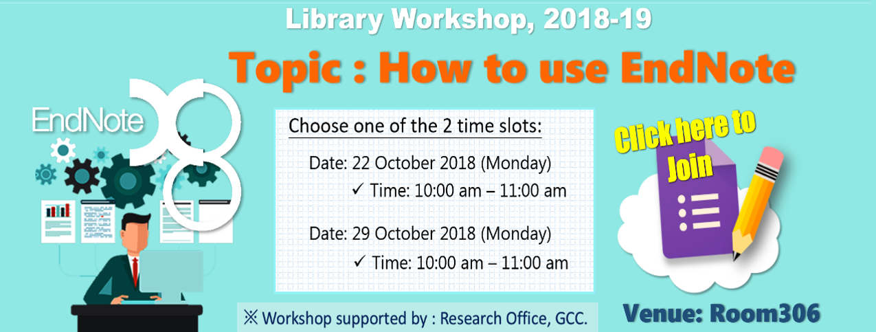 Library Workshop_EndNote